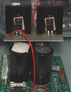 Tidy up of my honey badger amplifier · The Coders Corner