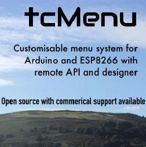 TcMenu · The Coders Corner