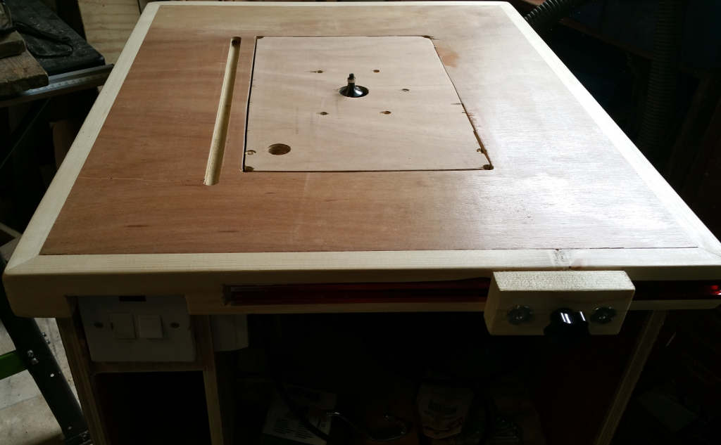 Hand built router table for the workshop the coders corner router table greentooth Images